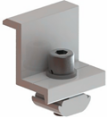 tile roof end clamp