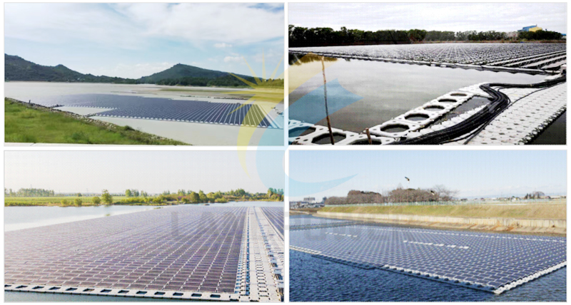 floating solar pv mounting