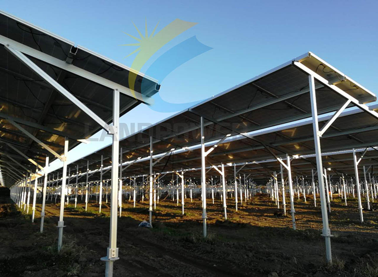 Agricultual pv structure