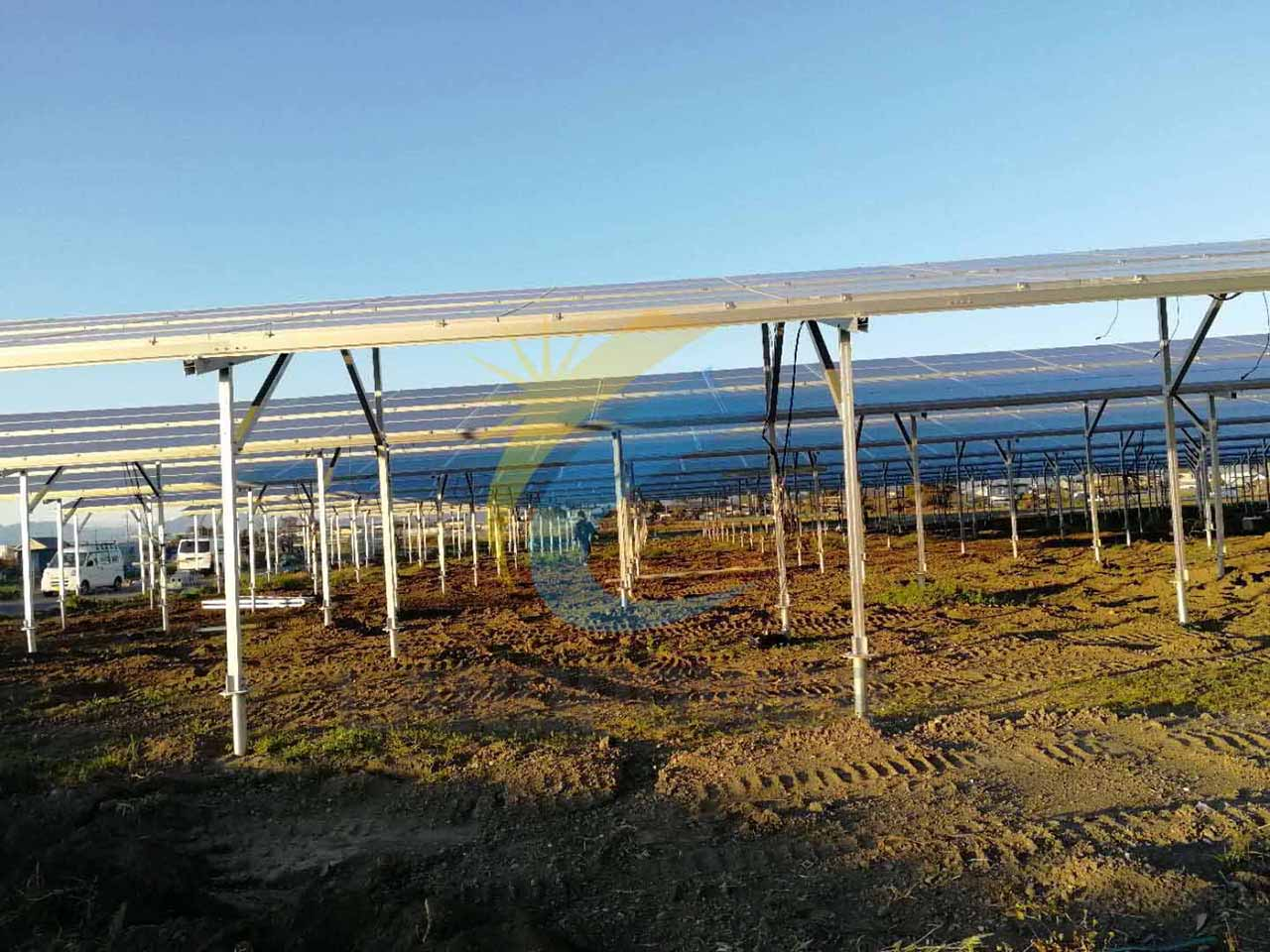 agriculture land pv mounting