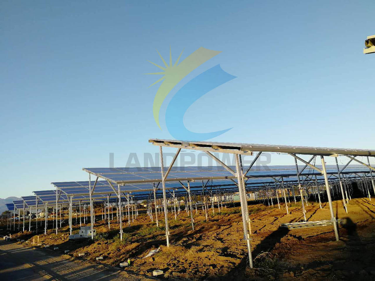 agricultrul solar mounting